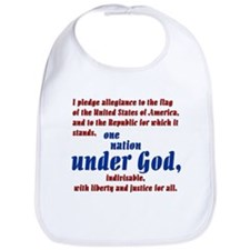 USA under God Bib