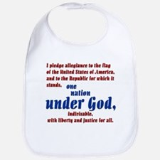 USA under God Bib