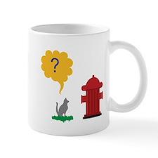 Cat Hydrant Mug