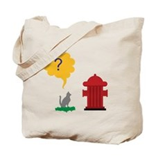 Cat Hydrant Tote Bag