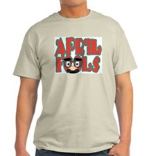 April Fool Ash Grey T-Shirt