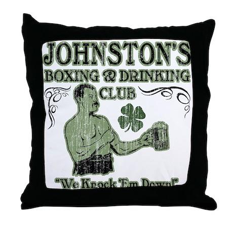 Johnston's Club Throw Pillow