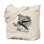 Drum Dragon Tote Bag