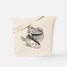 Drum Dragon Tote Bag