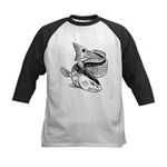 Drum Dragon Kids Baseball Jersey
