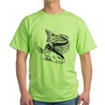 Drum Dragon Green T-Shirt