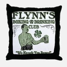 Flynn's Club Throw Pillow