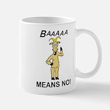 baaa goat 3-3-10 Mugs
