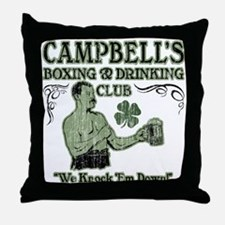 Campbell's Club Throw Pillow