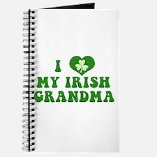 I Love My Irish Grandma Journal