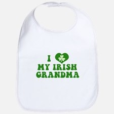 I Love My Irish Grandma Bib