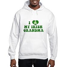 I Love My Irish Grandma Hoodie