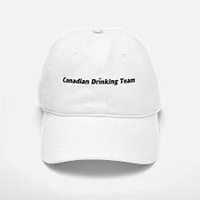 Canadian Drinking Team Baseball Baseball Cap