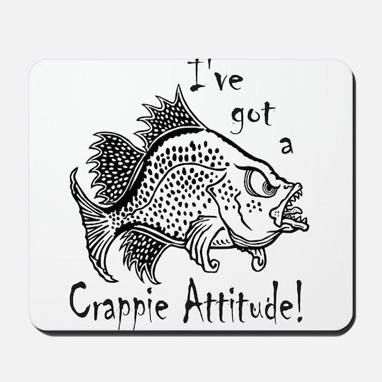 Crappie Attitude Mousepad