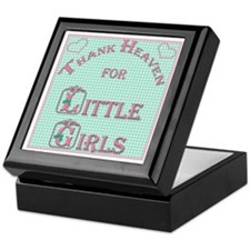 Thank Heaven for Little Girls Keepsake Box