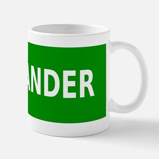 Flatlander (simple) Mug