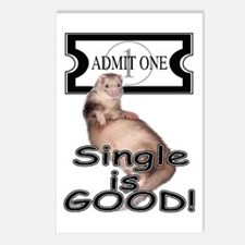 Single is GOOD Postcards (Package of 8)