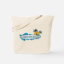 Garden City Beach SC - Surf Design Tote Bag