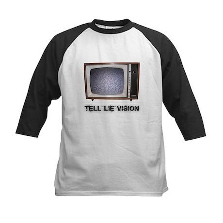 Tell Lie Vision Kids Baseball Jersey