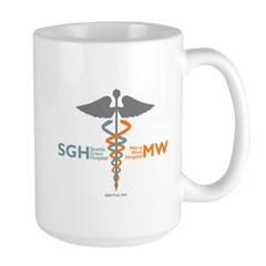 Seattle Grace Mercy West Hospital Large Mug