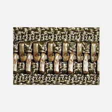 Cute Zipper Rectangle Magnet