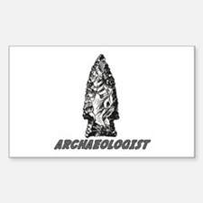 """Archaeologist """"Point"""" Rectangle Decal"""
