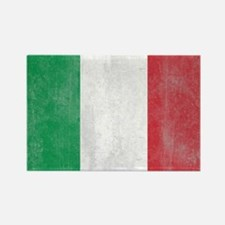 Vintage Italy Flag Rectangle Magnet