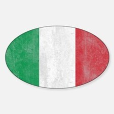 Vintage Italy Flag Decal