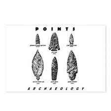 """Archaeologist """"Point"""" Postcards (Package of 8)"""