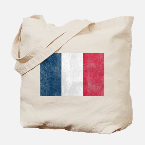 Vintage French Flag Tote Bag