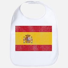 Vintage Spain Flag Bib