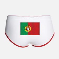 Vintage Portugal Flag Women's Boy Brief