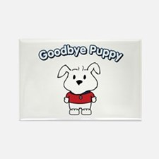 Goodbye Puppy Rectangle Magnet