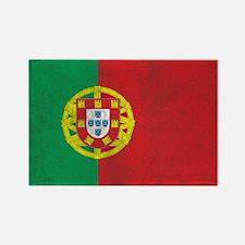 Vintage Portugal Flag Rectangle Magnet
