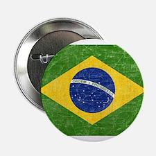 "Vintage Brazil Flag 2.25"" Button"