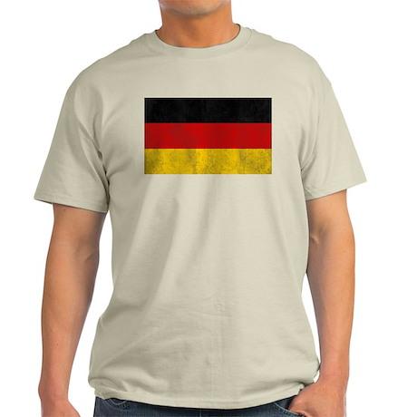Vintage Germany Flag Light T-Shirt