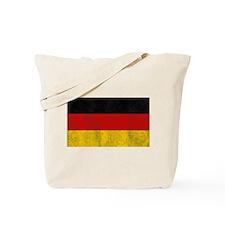 Vintage Germany Flag Tote Bag