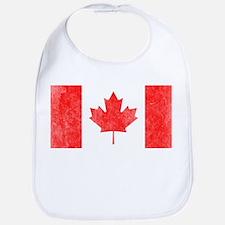 Vintage Canada Flag Bib