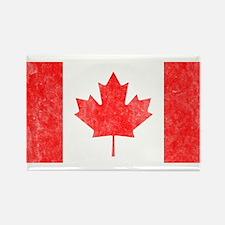 Vintage Canada Flag Rectangle Magnet
