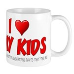I Love My Kids Mug