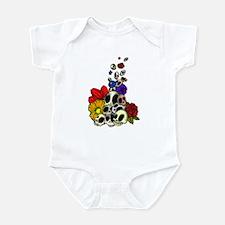 Skulls & Flowers Infant Bodysuit
