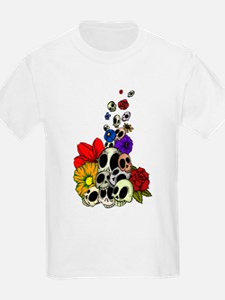 Skulls & Flowers T-Shirt