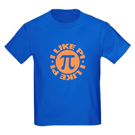 I Like Pi Kids Dark T-Shirt