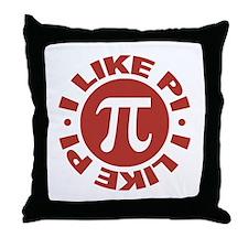 I Like Pi Throw Pillow