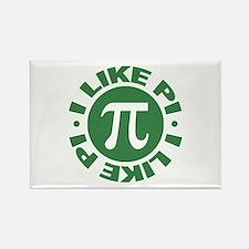 I Like Pi Rectangle Magnet