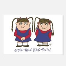 Good Twin/Bad Twin 2 Postcards (Package of 8)