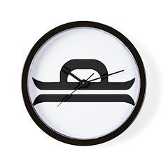 Libra Sign Gift Gear Wall Clock