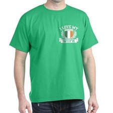 I Love My Irish Wife T-Shirt