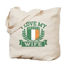 I Love My Irish Wife Tote Bag