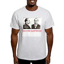 Al Capone Have a Nice Valentines Day Ash Grey T-Sh